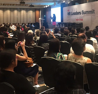 Aetna International hosted the 2018 HR Leaders Summit luncheon at the Hilton in Singapore where Fiona Lee, Aetna International Head of Distribution for Singapore, led a presentation.