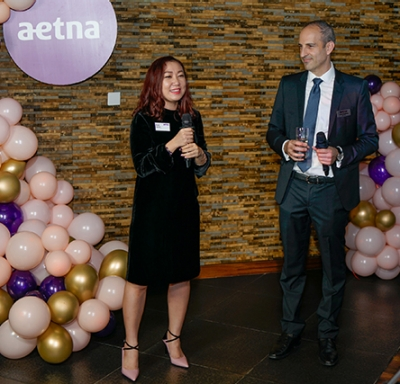 Aetna International employees at 2018 Vietnam brokers appreciation event