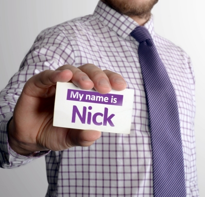 My name is Nick