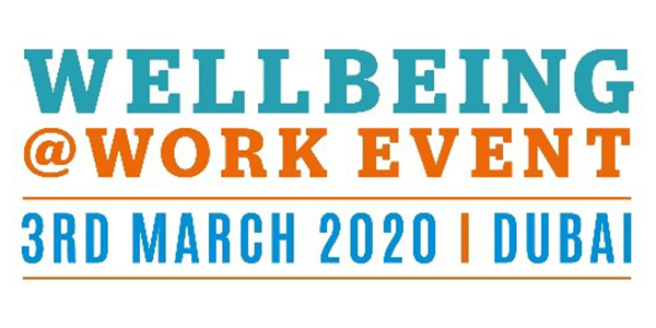 WellBeing at Work Event Dubai 3 March 2020 Logo