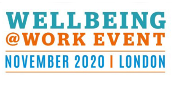 WellBeing at Work Event London November 2020 Logo