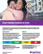 heart-healthy numbers to know flyer